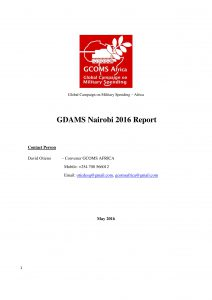 Title-GDAMS-Report-Nairobi
