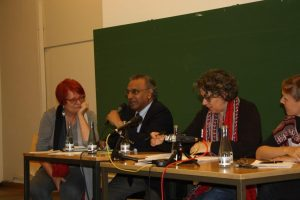 Tarja Cronberg, Jayantha Dhanapala, Xanthe Hall, Inga Blum